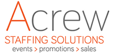 Acrew Staffing Solutions | Events – Promotions – Sales – Recruitment